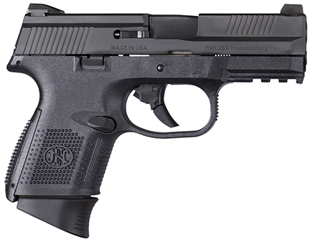 FNS-9C 9MM BLK 12+1 FS        - STRIKER FIRED/NO MANUAL SAFETY