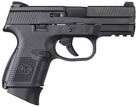 FNS-9C 9MM BLK 12+1 NS        - STRIKER FIRED/NO MANUAL SAFETY
