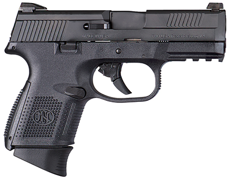FN 66696 FNS 40 Compact 40 Smith & Wesson (S&W) Double 3.6