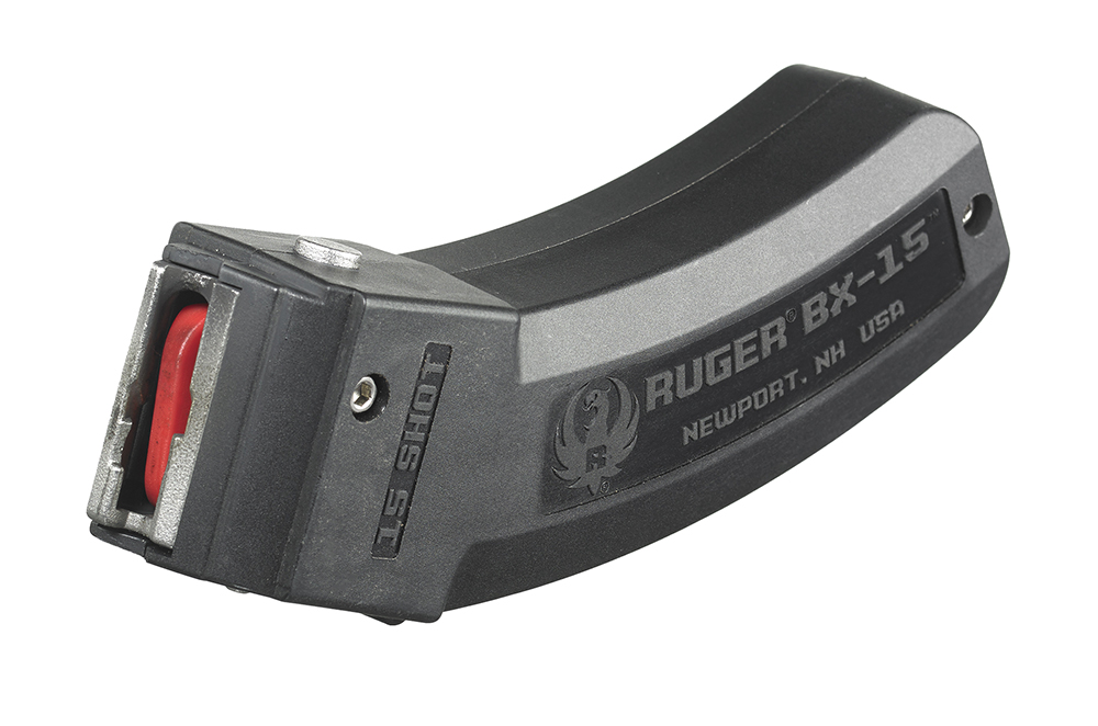 Ruger 90463 BX-15 22 Long Rifle (LR) 15 rd 10/22, SR-22,77/22 BX-15 Polymer Black Finish