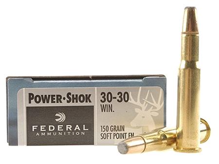 Federal P3030TC1 Premium   30-30 Winchester 150 GR Trophy Copper 20 Bx/ 10 Cs