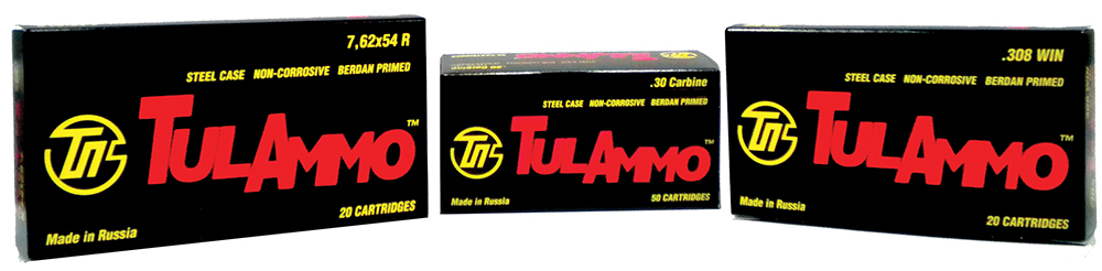 Tulammo UL076209 Centerfire Rifle 7.62X39mm 124 GR FMJ 40 Bx/ 25 Cs