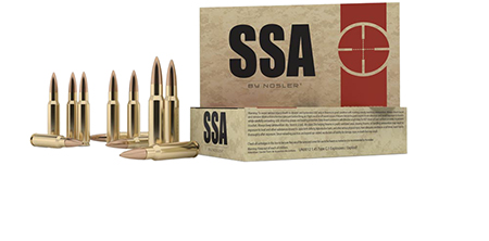 Nosler 75050 SSA 30-06 Springfield 155 GR Hollow Point 20 Bx/ 10 Cs