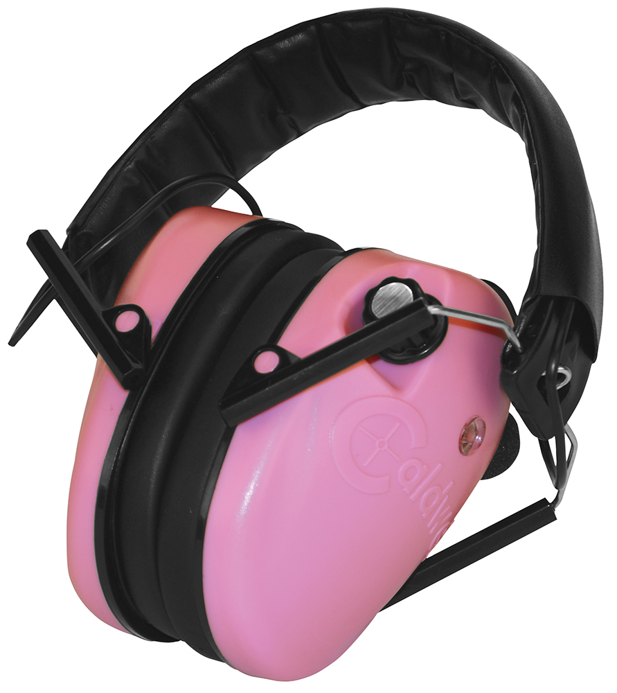 Caldwell 487111 E-Max Electronic Low Profile 23 dB Black/Pink