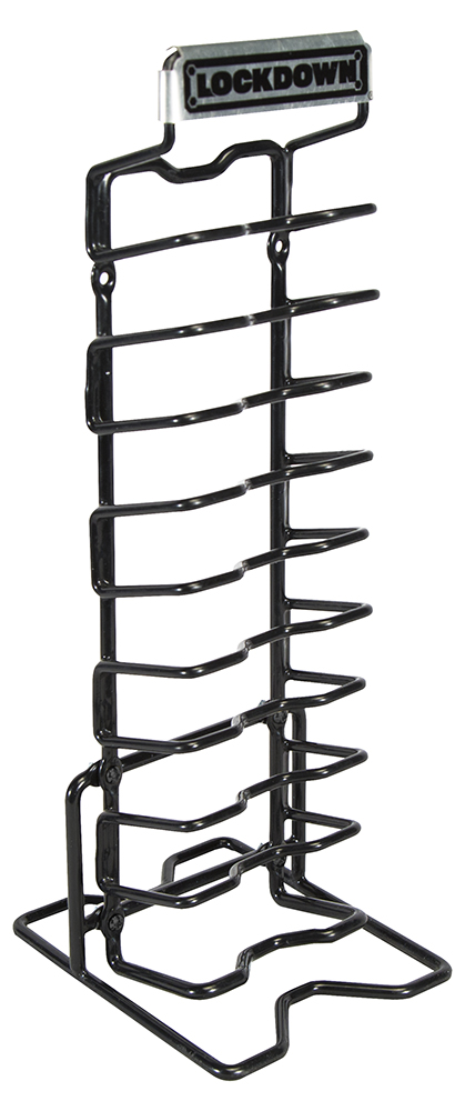 Lockdown 222972 AR-15 Magazine Rack Black