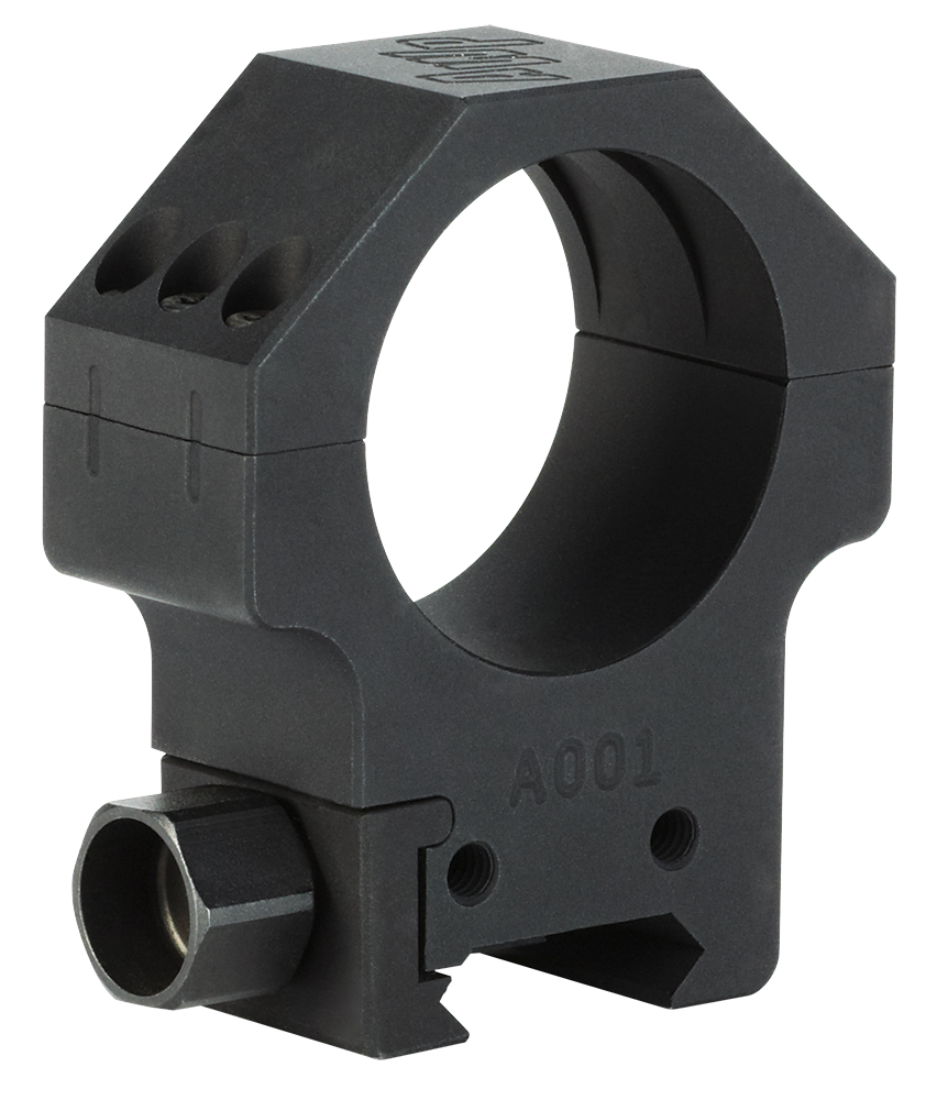 Sig Sauer Electro-Optics SOA10004 Alpha Hunting Ring Set 30mm Dia Medium Steel Black Matte