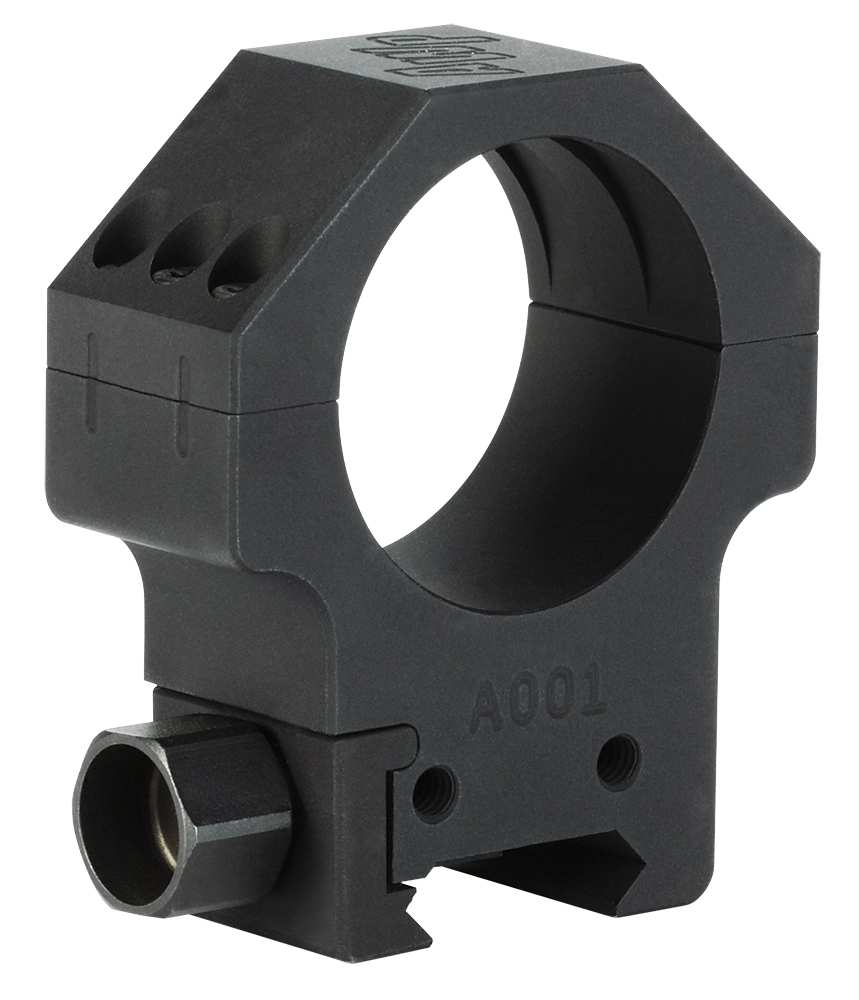 ALPHA HUNT RINGS MED 2PK 1 - PRECISION MILLED STEEL MED BLK