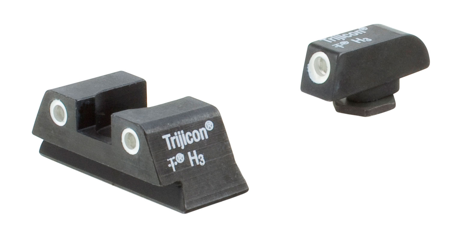 Trijicon 600777 Bright & Tough Night Sights Glock 42/43 Metal Blk