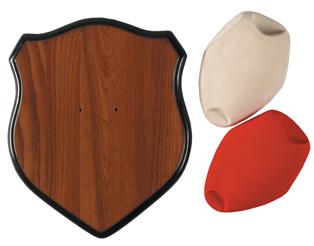 Hunters Specialties 00639 Deer Antler Mounting Kit Red/white