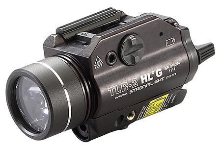 Streamlight 69265 TLR-2 HL-G 720 Lumens/530nm CR123A Lithium (2) Black