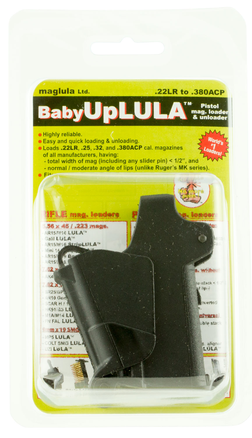 maglula UP64B UpLULA 22LR/25/32/380ACP Finish