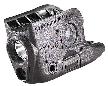 Streamlight 69270 TLR-6 Subcompact Tactical Light 100 Lumens 1/3N (2) Black