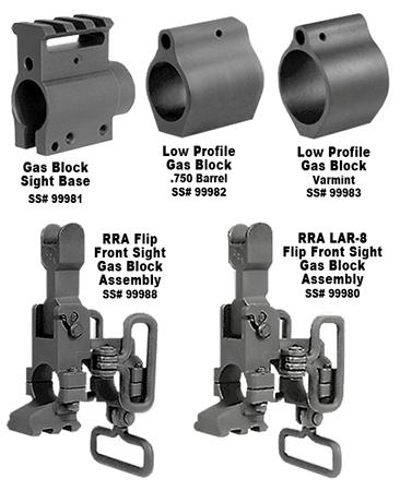 Rock River Arms AR0122ASY Gas Block Sight Base AR-15  Aluminum .750