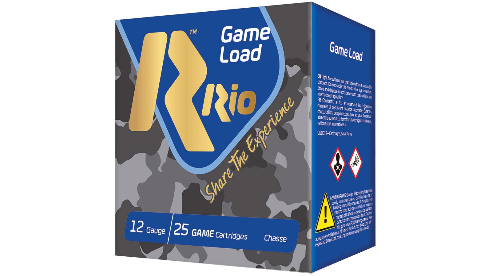 RIO AMMUNITION SG326 Game Load Super Game High Velocity 12 Gauge 2.75