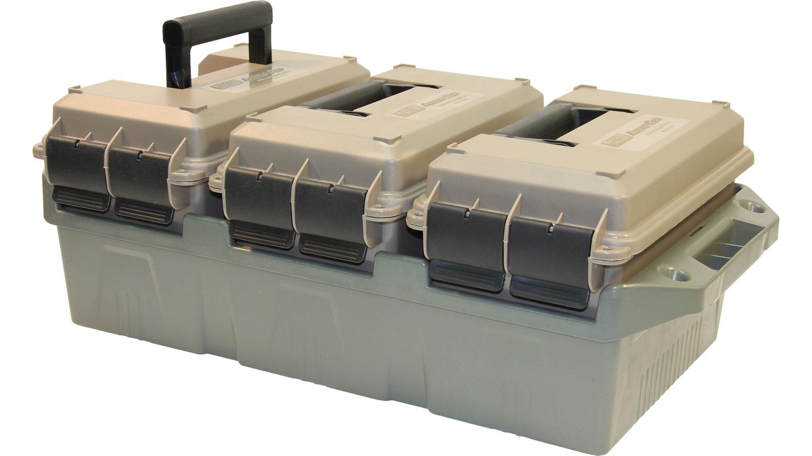MTM AC3C 3-Can Ammo Crate 50 Cal Dark Earth