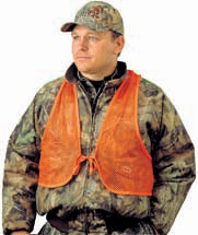 Hunters Specialties Mesh Vest  <br>  Blaze Orange