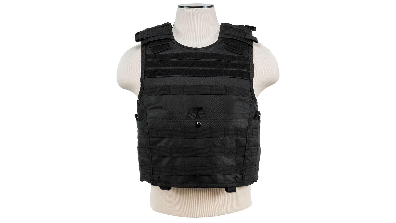 Vism Expert Plate Carrier Vest-Med-2XL-Black