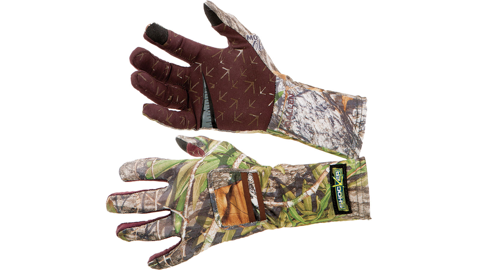 Shocker Turkey Gloves  <br>  Mossy Oak Obsession