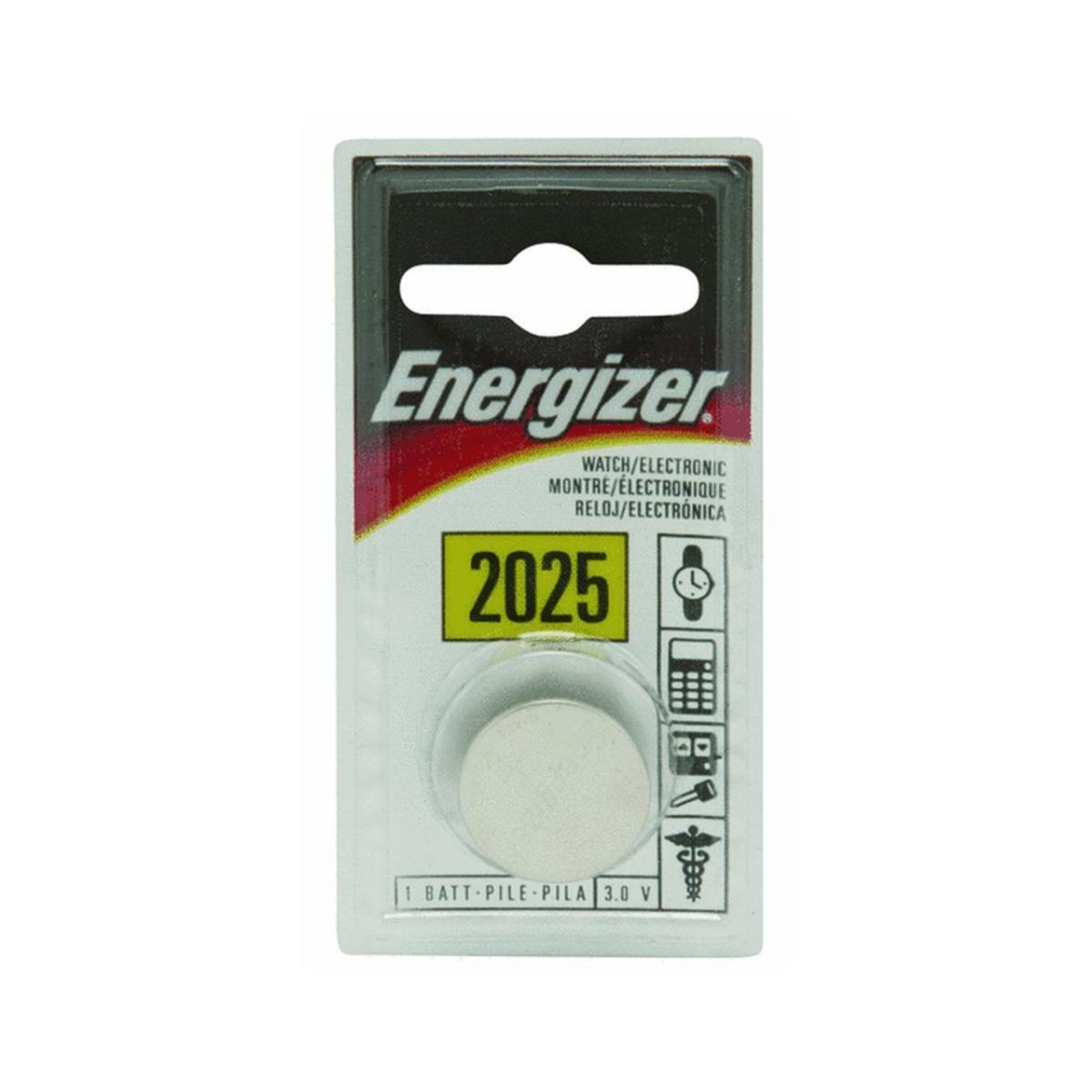 Energizer ECR2025BP Lithium Coin Battery CR2025