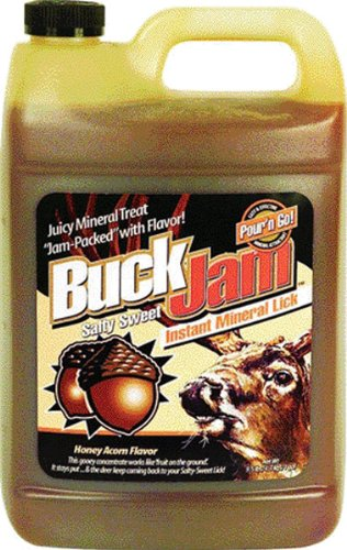 Evolved Buck Jam Liquid Attractant  <br>  Honey Acorn 1 gal.