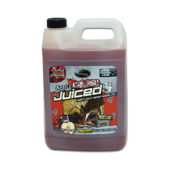 Wildgame Juiced Attractant  <br>  Apple Crush 1 gal.