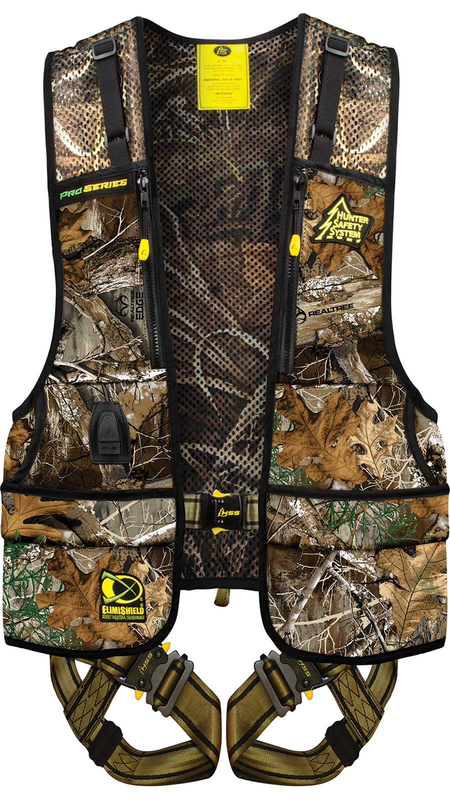 Hunter Safety System Pro Series  <br>  with Elimishield Realtree Large/X-Large