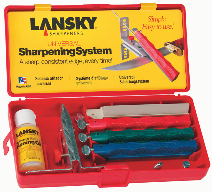 Lansky Universal Controlled-Angle Knife Sharpening System