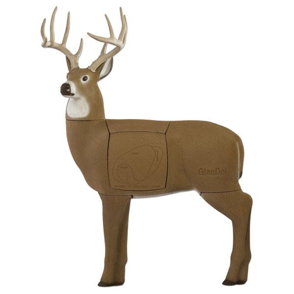 GlenDel Full-Rut Buck Target  <br>