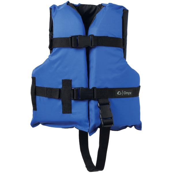 Onyx 103000-500-001-12 General Purpose Life Vest Child PFD, Blue