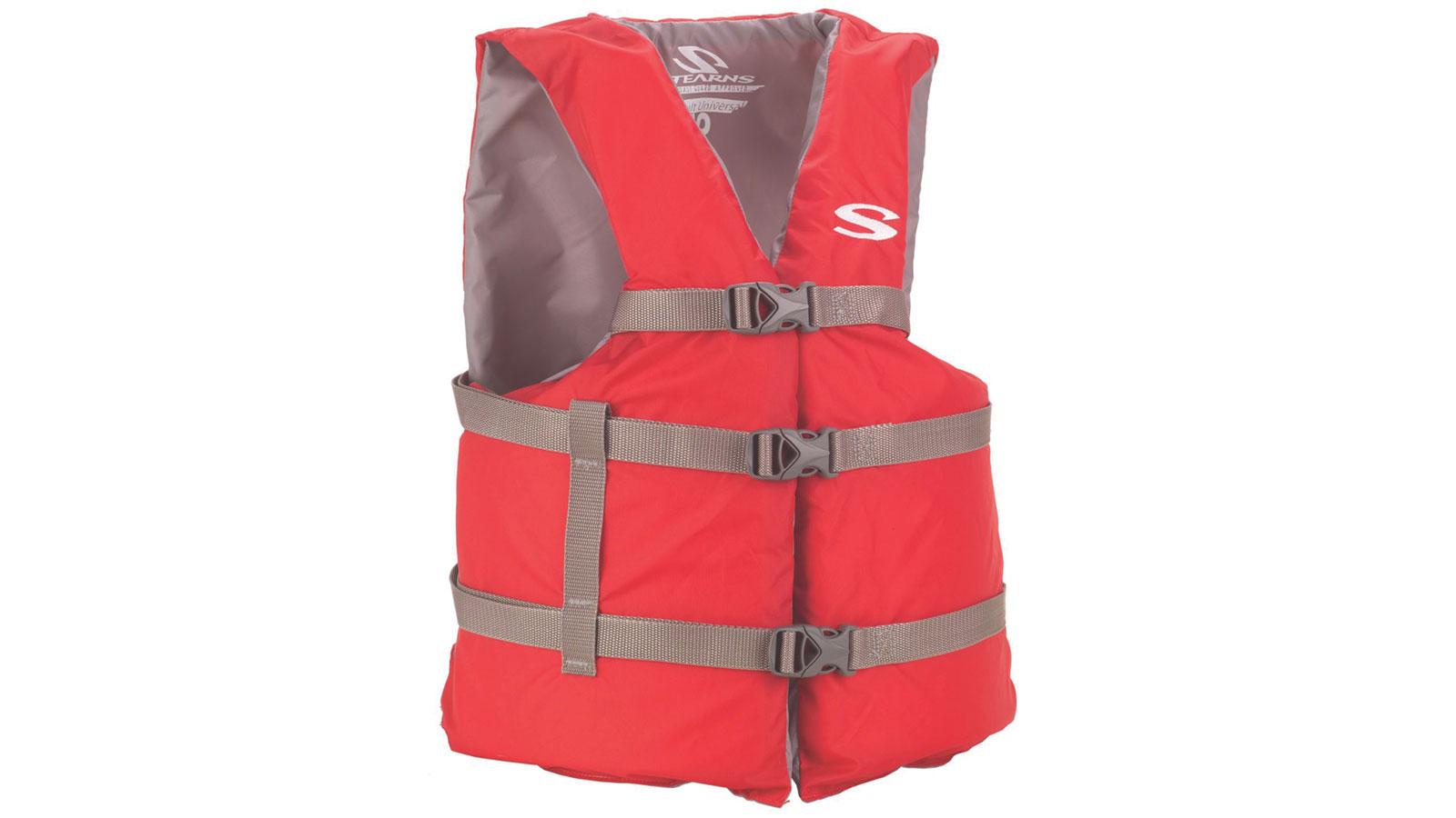 Stearns 3000004474 Adult General Purpose Vest Standard Red