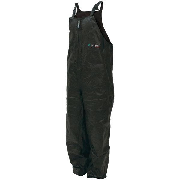 Frogg Toggs PA93109-01XL Pro Advantage Bib Rain Pants, Black