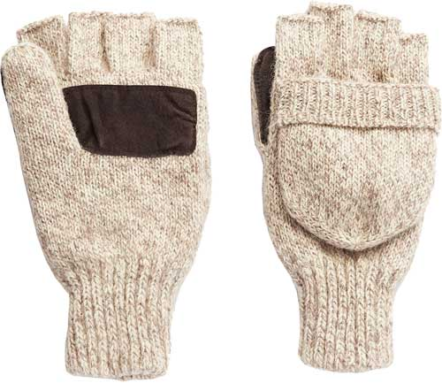 Hot Shot Rag Wool Mitten  <br>  Pop-Top