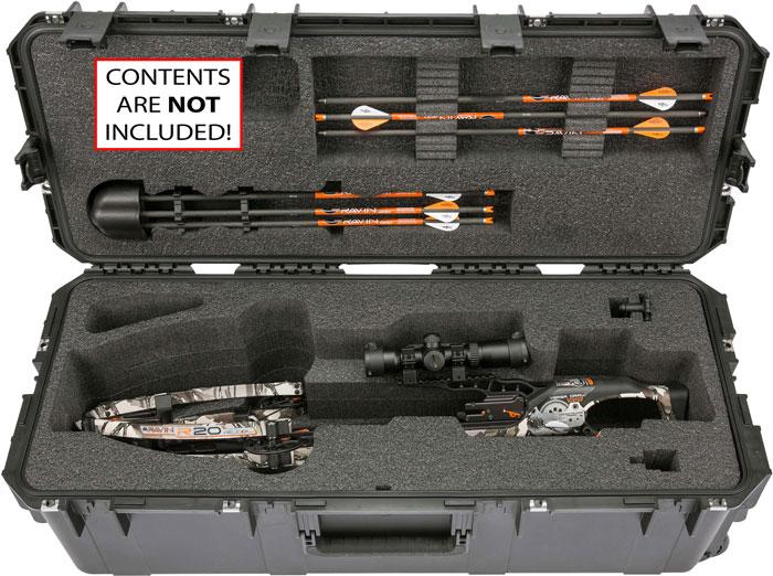 SKB iSeries Ultimate Waterproof Crossbow Case  <br>  Black