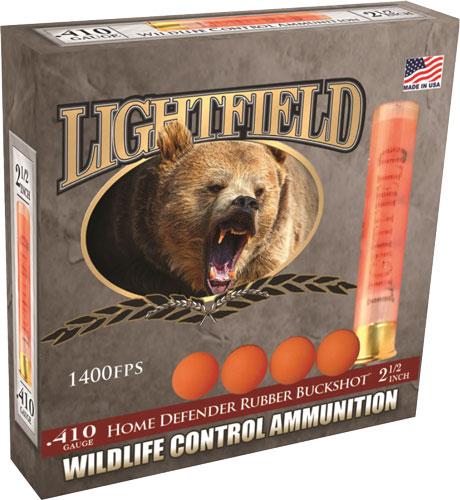 Lightfield CWRB-410 Wildlife Control Rubber Buckshot Slugs 410