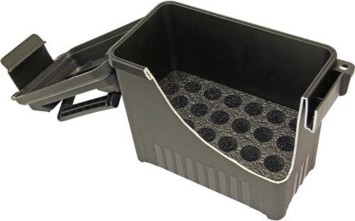 MTM 50 BMG AMMO CAN 20 ROUND BLACK PRE-CUT FOAM LOCKABLE