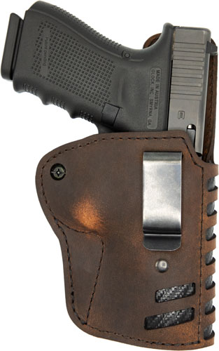 VC COMPOUND HOLSTER IWB KYDEX LEATHER RH SIG P365 BROWN
