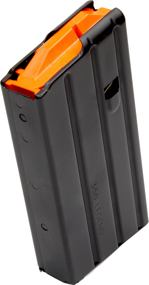 CPD MAGAZINE AR15 .350 LEGEND 20RD BLACKENED S/S