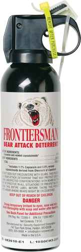 Sabre Frontiersman Bear Spray  <br>  7.9 oz