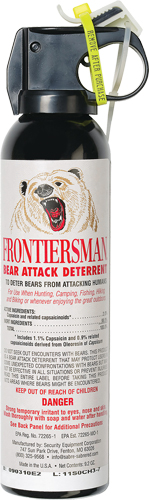 Sabre Frontiersman Bear Spray  <br>  9.2 oz.