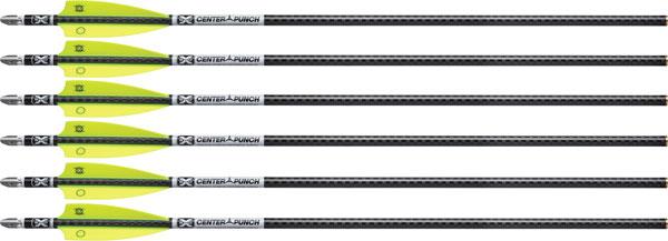 TenPoint Evo-X Center Punch Crossbow Bolts  <br>  20 in. Alpha Nocks 6 pk.