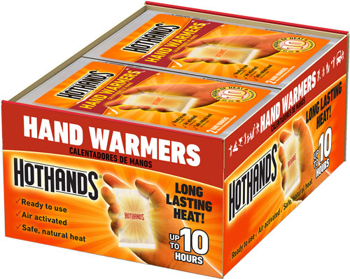 HOTHANDS HAND WARMERS 40 PAIR 10 HOUR