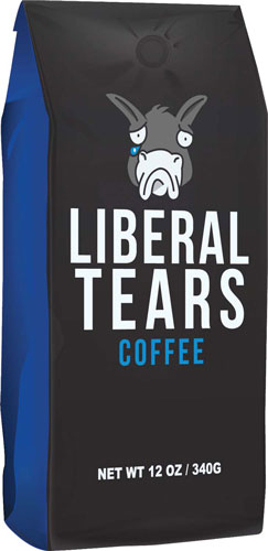 LIBERAL TEARS COFFEE BLACK GROUND MEDIUM ROAST 12OZ