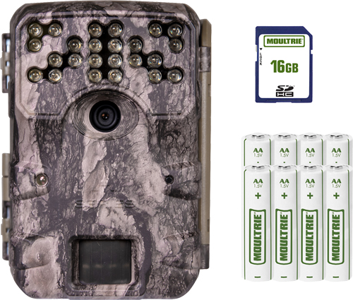 MOULTRIE TRAIL CAM A-900i 30MP NO GLO W/16GB CARD/BATTERIES