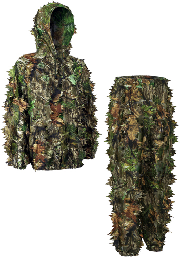 TITAN LEAFY SUIT MOSSY OAK OBSESSION NWTF S/M PANTS/TOP