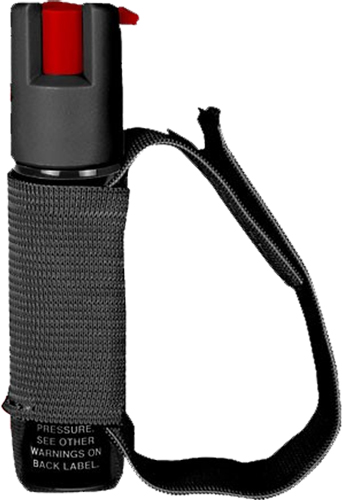 Sabre Red Runners Pepper Spray  <br>  Black with Adjustable Hand Strap