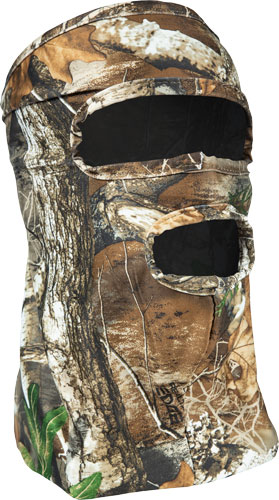Primos Stretch 3/4 Facemask  <br>  Realtree Edge