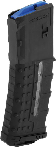 UTG MAGAZINE 5.56X45 30RND WINDOW POLY MATTE BLACK