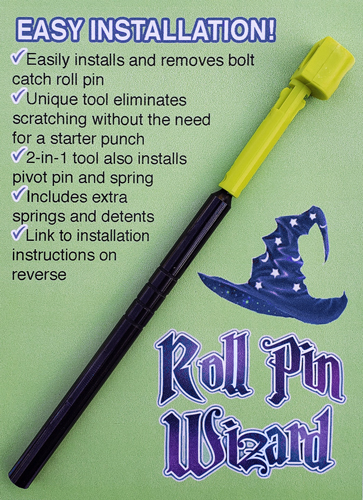 ROLL PIN WIZARD BOLT CATCH ROLL PIN TOOL FOR AR-15