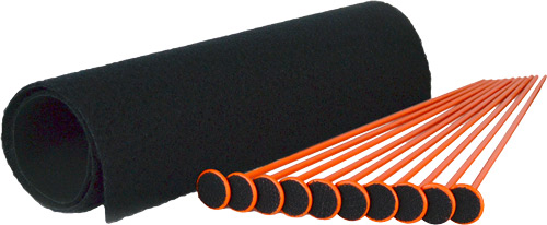 GSS SMALL RIFLE ROD KIT 10 ORG RIFLE RODS .22 CAL 19
