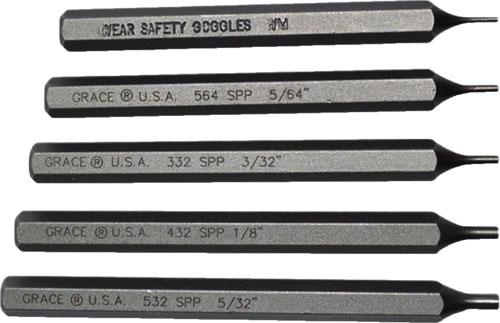 Grace USA - Starter Short Pin Punch Set